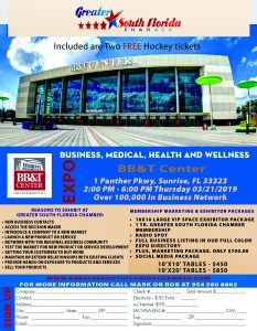 Business, Medical, Health and wellness Expo @ BBT Center | Sunrise | Florida | United States