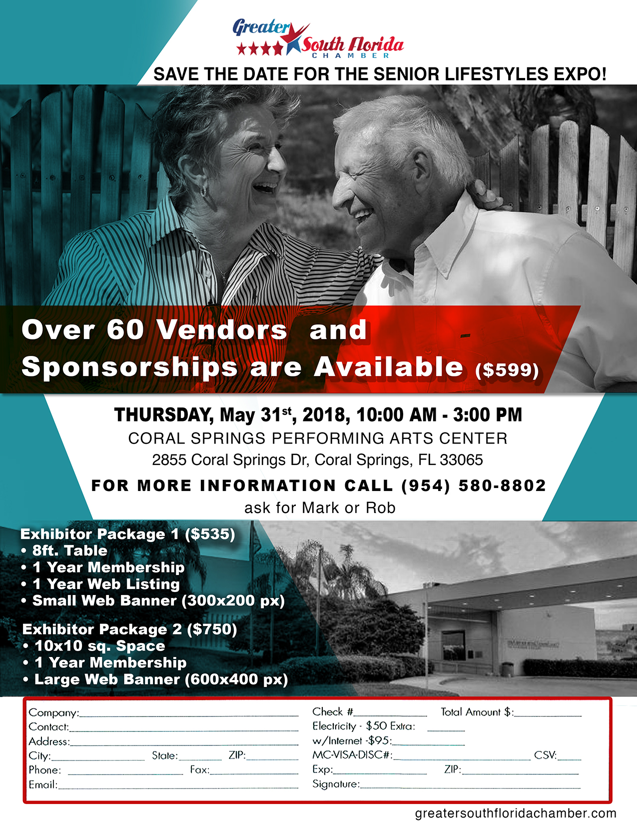 Senior Lifestyles Expo @ Coral Spring Preforming Arts Center | Coral Springs | Florida | United States