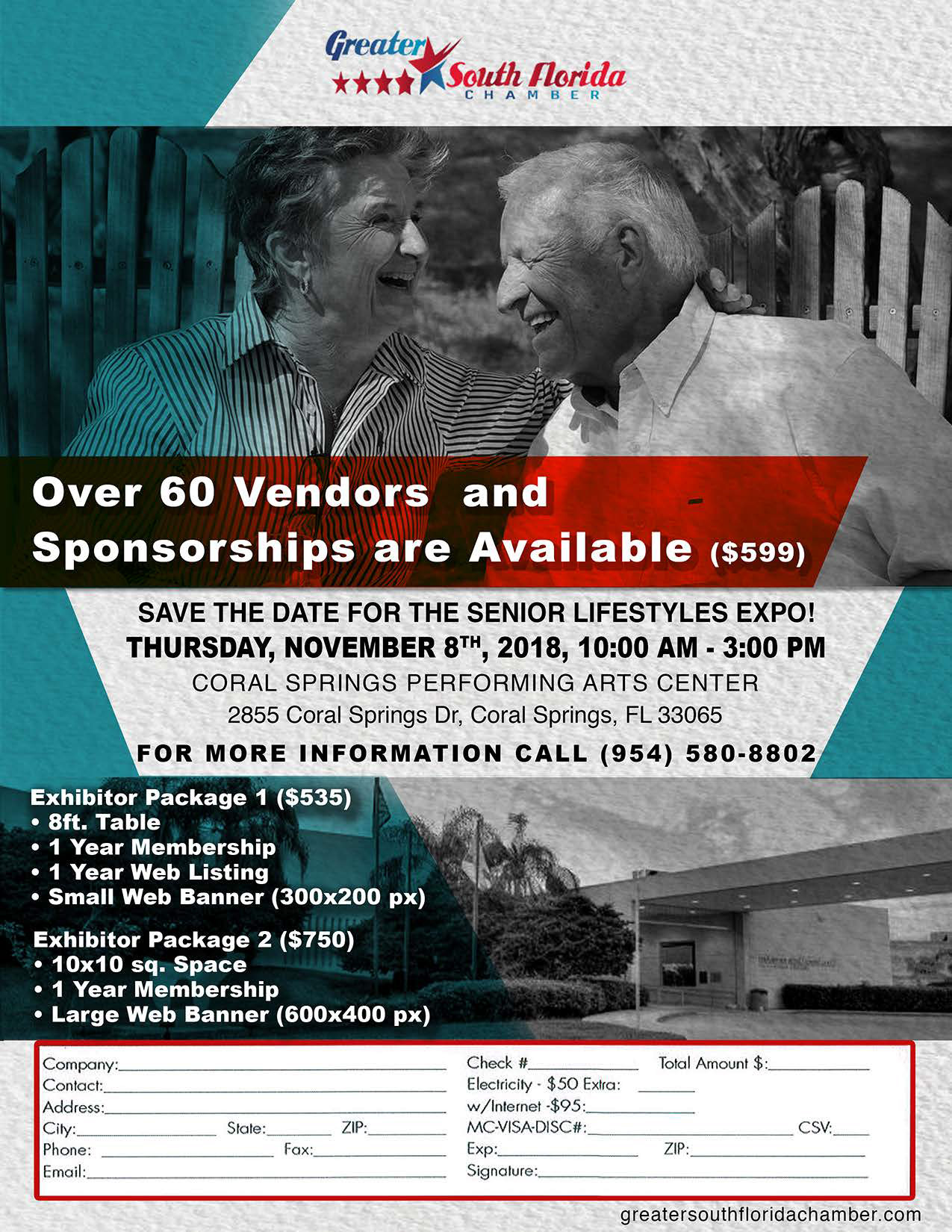 Senior Lifestyles Expo (Coral Spring) @ Coral Spring Performing Arts Center | Coral Springs | Florida | United States
