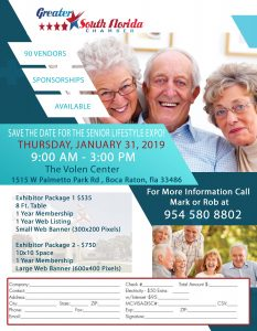 Senior Lifestyle Expo @ The Volen Center | Boca Raton | Florida | United States