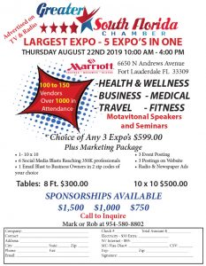 Health, Wellness, Business, Medical, Travel and Fitness Expo