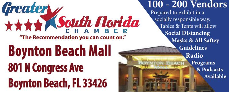 Day 1 Home Show Business Expo Boynton Beach Mall Spring 2021!